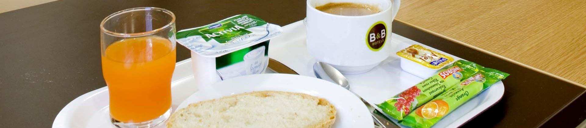 B&B petit déjeuner