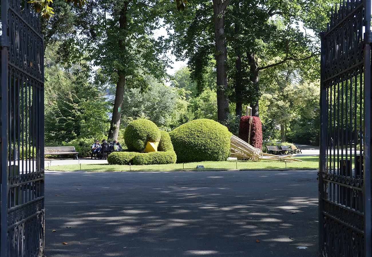 Ponti au jardin des plantes -
